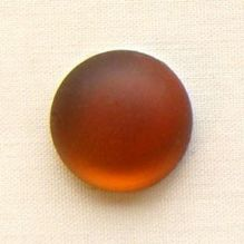 18mm Round Lunasoft Cabochon Copper - 1
